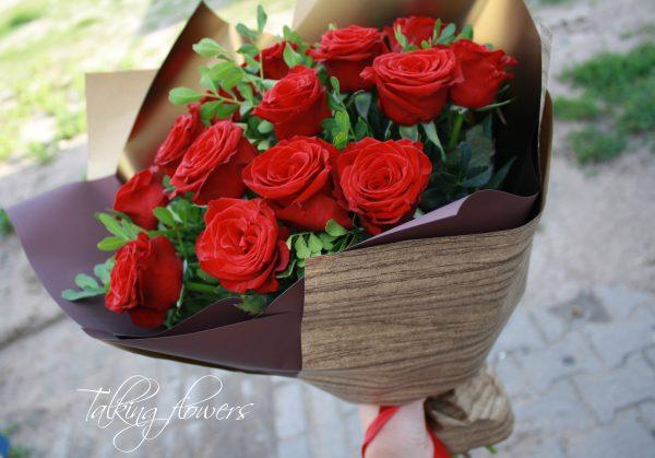 Букет роз с доставкой по номеру телефона